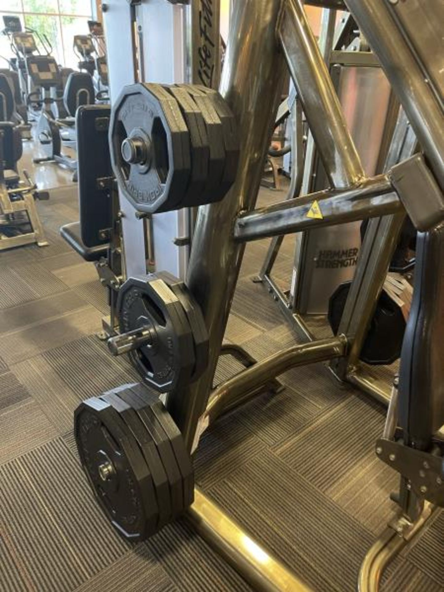 Incline Press with Iron Grip Weight Plates M: SPLIP - Image 3 of 6