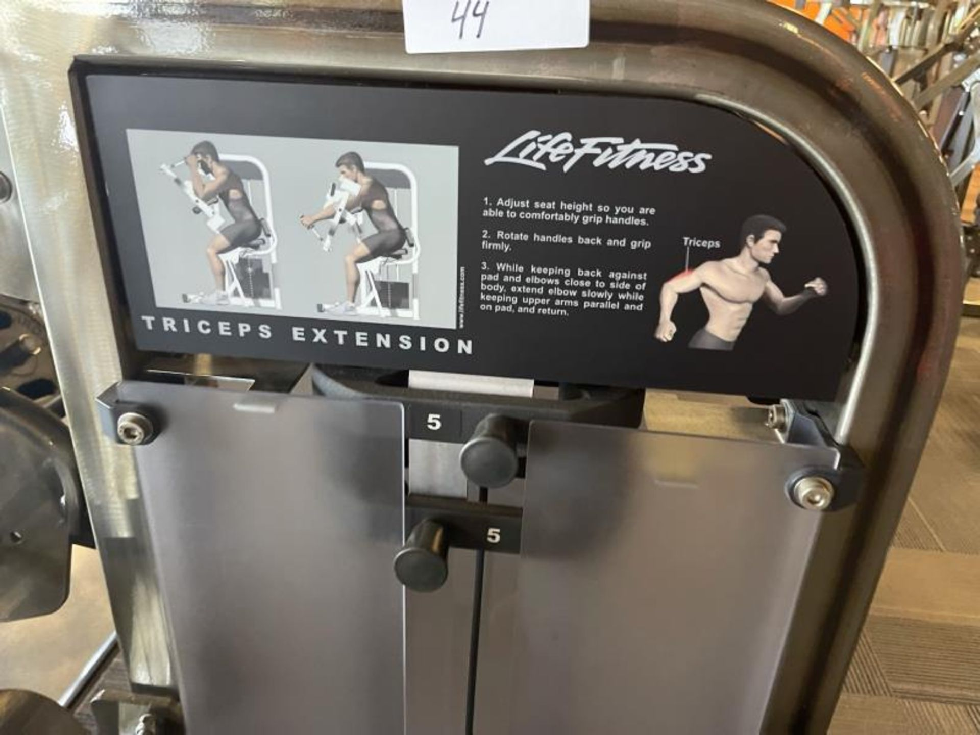 Life Fitness Biceps Curl Extension M: PSTESE - Image 4 of 7