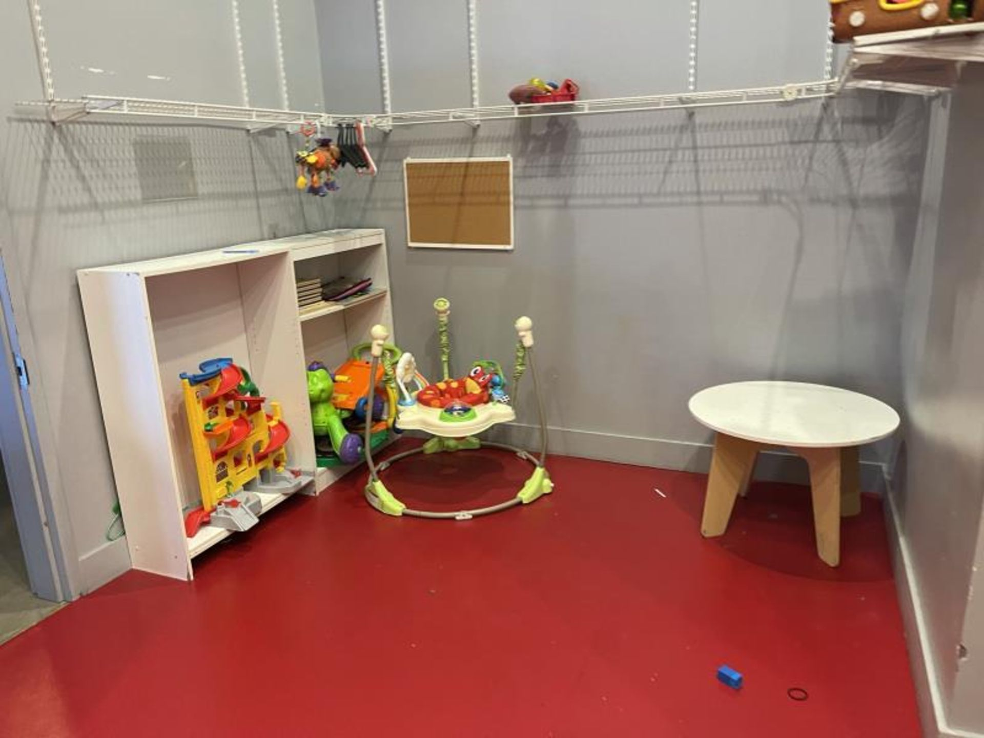 Group Lot of Children's Toys with Play Kitchen & Plastic Bins - Image 4 of 4