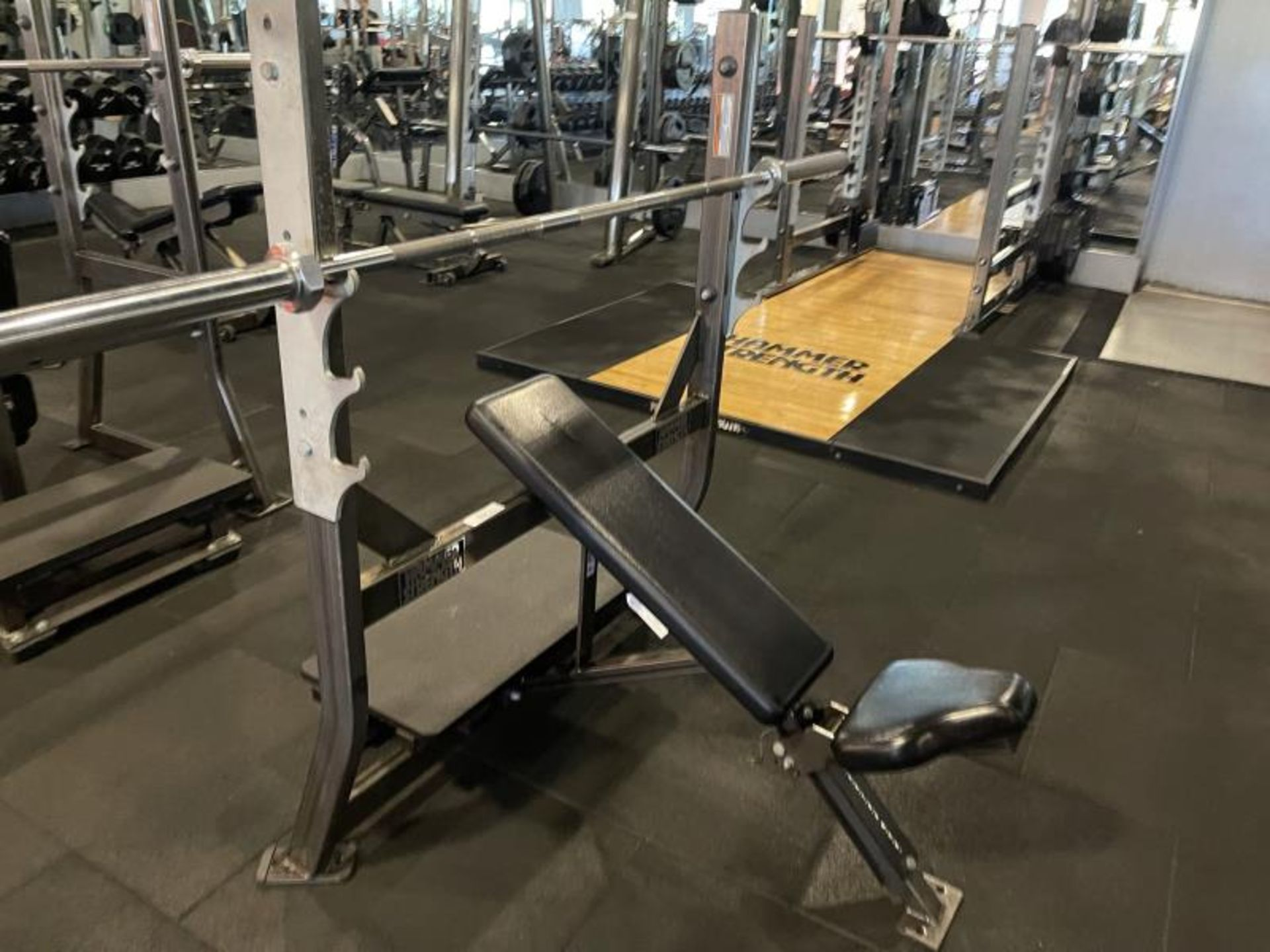 Hammer Strength with Bench, Rack, Bars
