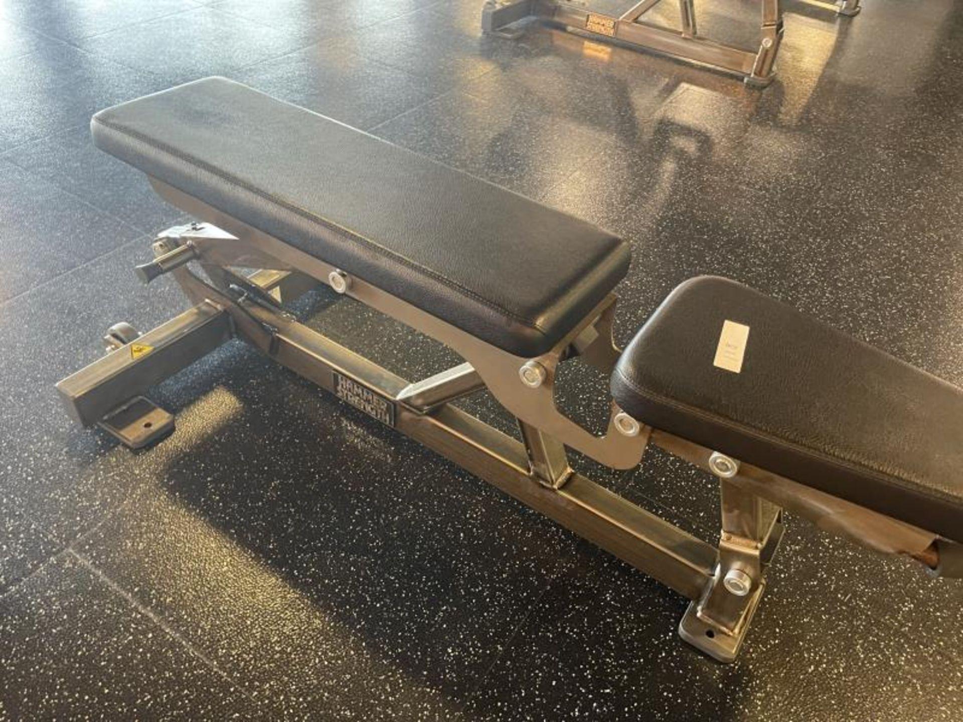 Hammer Strength Multi Adjustable Bench M: FWMAB - Image 3 of 4