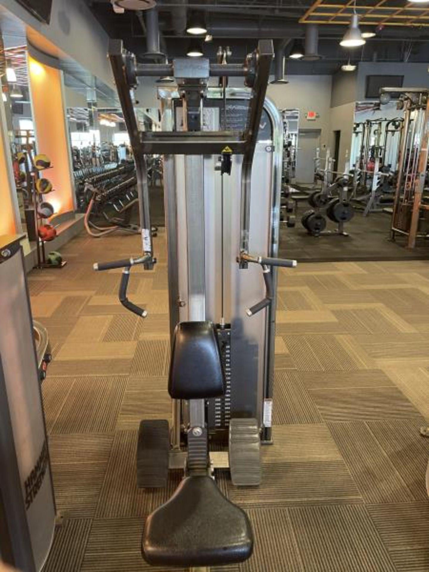 Life Fitness Seated Row M: PSRWSE