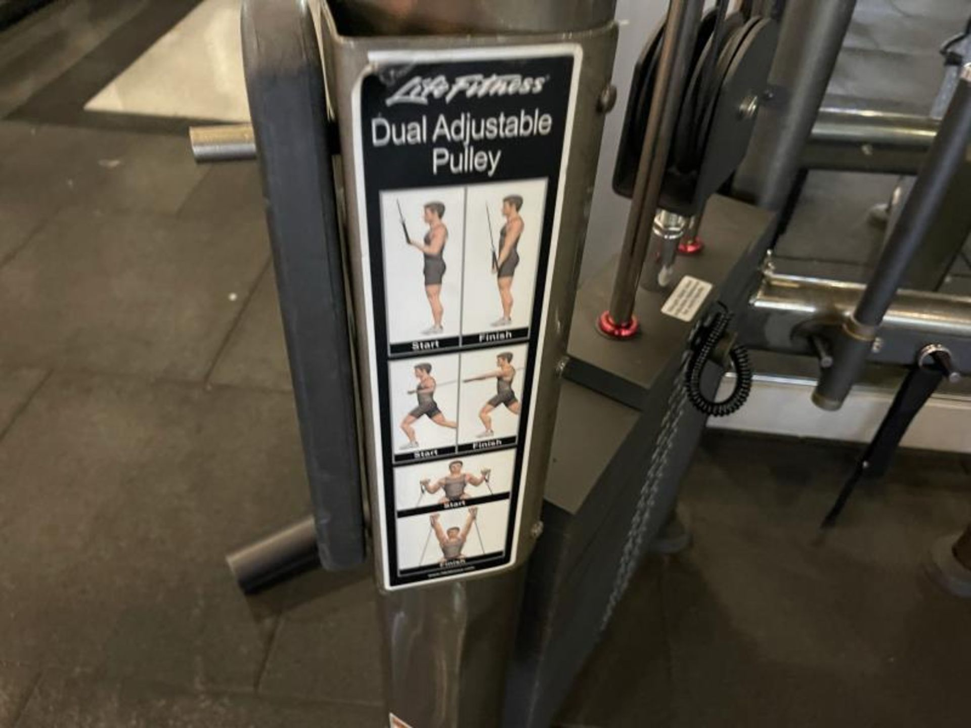 Life Fitness Dual Adjustable Pulley M: CMDAP - Image 3 of 6