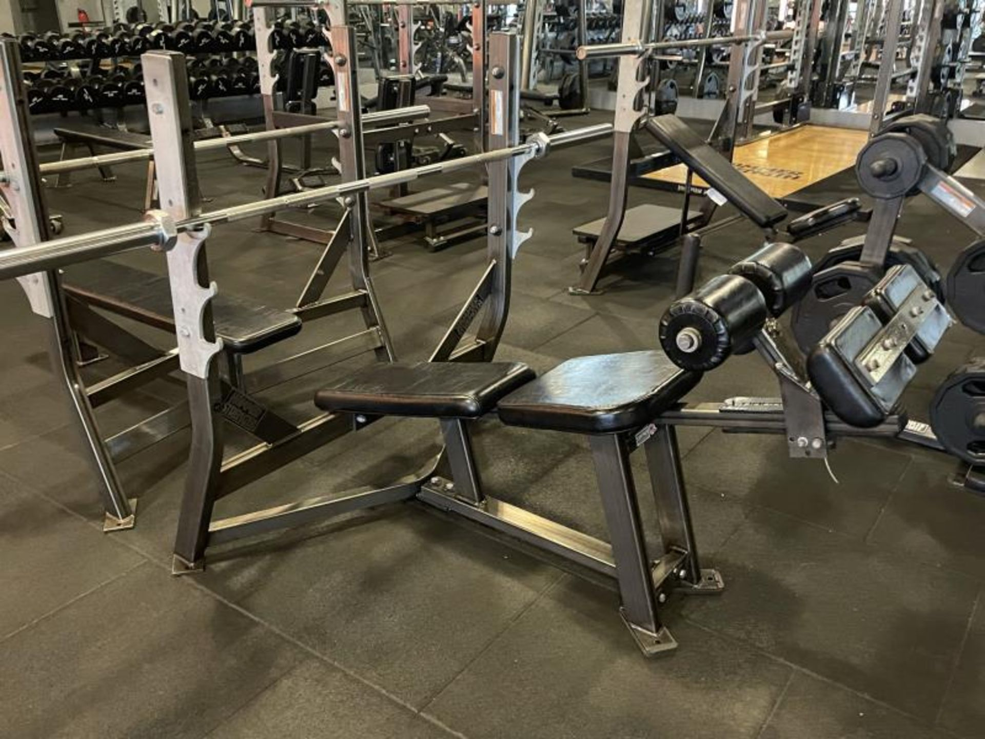 Hammer Strength Olympic Decline Bench with Bar ODB-A03
