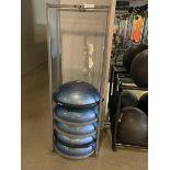 Lot of 5 Bosa Balance Trainer with Metal Racks
