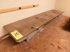 """Steel Inspection/Layout Table, 14 1/2"""" x 60"""""""