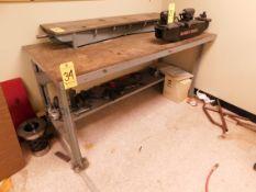 """Steel Work Bench, 34"""" x 72"""""""