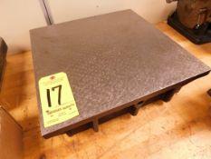 """Steel Inspection Plate, 18"""" x 18"""""""