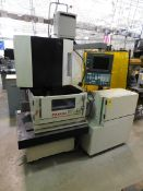 Fanuc Robocut OiC Wire EDM, SN P04YC0438, New in 2004, Fanuc Series 180 8is-WB CNC Control, Hand-