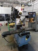 "TRAK DPMSX3 CNC Bed Mill, SN 081CF16279, with Proto Trak SMX CNC Control, 10"" x 50"" Table, Power"