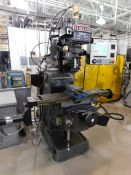 Seiki Model 4VH CNC Vertical Knee Mill, SN 1037, New in 2001, with Milltronics Centurion 6 CNC