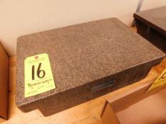 "Rahn 12"" x 18"" Granite Surface Plate"