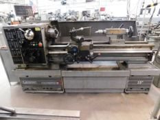 "Clausing Colchester 15"" x 50"" Toolroom Lathe, SN TG0600-538, with Anilam Wizard 211 2-Axis Digital"