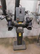 """Baldor Model 1216W 12"""" Double End Pedestal Grinder, SN 12-86, 3 HP, 460 V, 3 phs"""