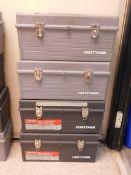 (4) Craftsman Tool Boxes