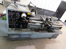 "Clausing Colchester 15"" x 50"" Toolroom Lathe, SN TG0579-507, with Anilam Wizard 211 2-Axis Digital"