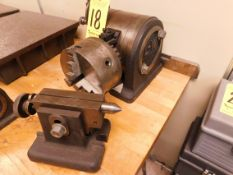 """LW Chuck Dividing Head with Tailstock, 6"""" 3-Jaw Chuck"""