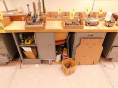 """Workbench, 28"""" x 72"""" with Butcher Block Top"""