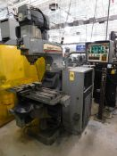 "Bridgeport Series I CNC Vertical Mill, SN CNC4137, 12"" x 34"" Table, 30 Taper Quick Change Spindle"
