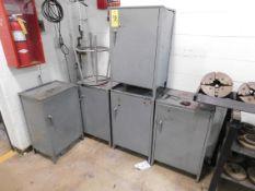 (5) Single Door Cabinets