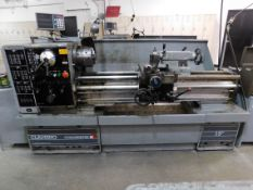 "Clausing Colchester 15"" x 50"" Toolroom Lathe, SN TG0568-502, with Anilam Wizard 211 2-Axis Digital"