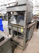 Dake Model 25H Hand-Operated H-Frame Hydraulic Shop Press, SN 161499, 25 Ton