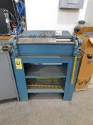 "Pexto/Roper Whitney Model X-24A 24"" x 16 Ga. Box and Pan Brake with Stand, SN 8-82"