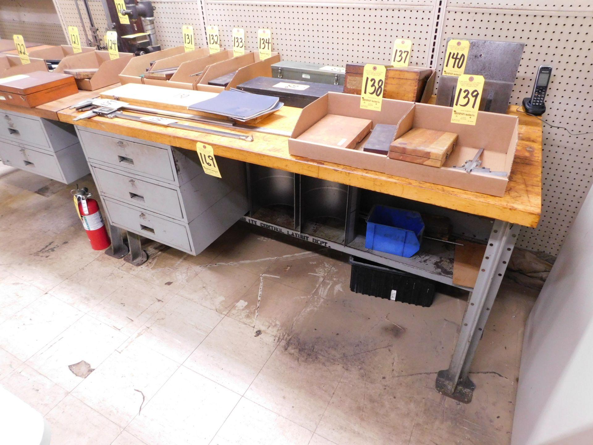 Butcher Block Top Workbench