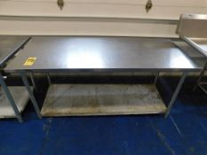 """Stainless Steel Table, 30"""" x 72"""" x 34"""" H"""