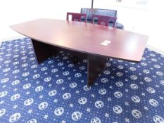 """Conference Table 44"""" x 95"""", and (2) Chairs"""