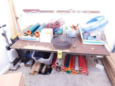 Folding Table and Contents