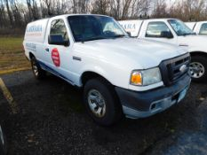 2008 Ford Ranger Pickup, VIN 1FTYR10D48PA53403, Regular Cab, Automatic AC, AM/FM, Cap, 188,759