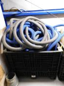 Plastic Crate with Hose