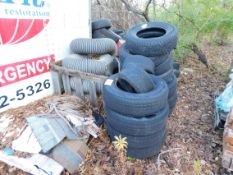 Tires, Shingles and Vent Hose