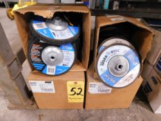 """(2) Cases Norton 7"""" Flap Wheels and (3) Cases 7"""" Stripping Dies"""