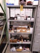 Miscellaneous Abrasives on Shelving Unit