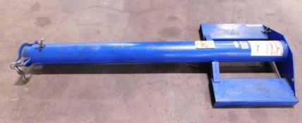 Vestil Model LM-EBT-4-24 Extendable Forklift Boom