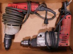 Milwaukee Hammer Drill and Milwaukee Screw Shooter