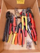 Crimpers, Tin Snips, and Snap Ring Pliers
