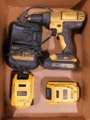 Dewalt 20V Cordless Drill with Batteries and Charger