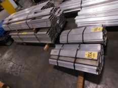 (4) Bundles of Extruded Aluminum, 1,503 Lbs.