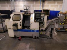 Okuma Cadet LNC-8 CNC Turning Center, s/n 0379, New 1996, Okuma OSP-5020L CNC Control, 3""