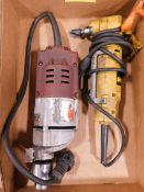 Milwaukee 4253-1 Drill Motor and Dewalt DW160 Right Angle Drill