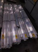 (4) Bundles of Extruded Aluminum, 2,563 Lbs.
