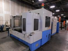 Mazak Model FH-880 CNC Horizontal Machining Center, s/n 236136181, New 1998, Mazatrol M-Plus CNC