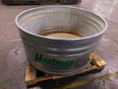 Hastings 4 Ft. Diameter X 2' Water Tank, 180 Gallon Cap.