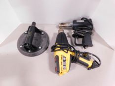 Woods Suction Cup Lifter and (2) Heat Guns