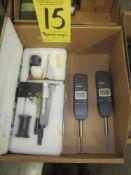 (2) Mitutoyo Digital Indicators and Ametek Electronic Depth Micrometer
