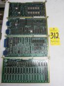 (4) Yaskawa Circuit Boards, S44430-1-5-1, S44430-1-3-2, S44430-1-1-10, and S44430-1-3-18