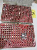 """(2) Pin Gage Sets, .251"""" - .500"""", Plus"""